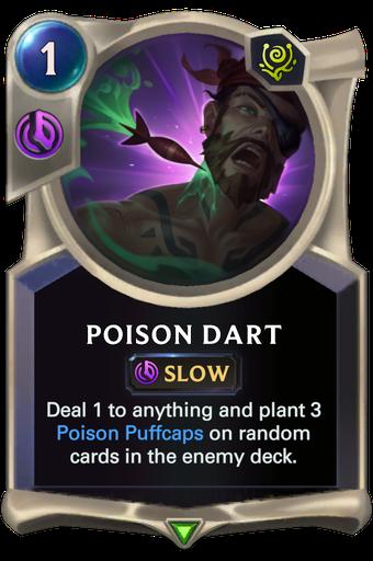 Poison Dart Card Image