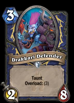 Drakkari Defender Card Image