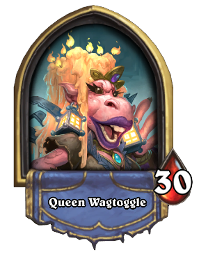Queen Wagtoggle Card Image