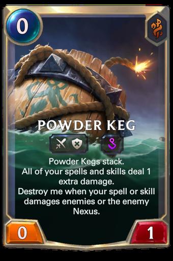 Powder Keg Card Image