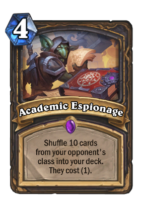 Academic Espionage Card Image