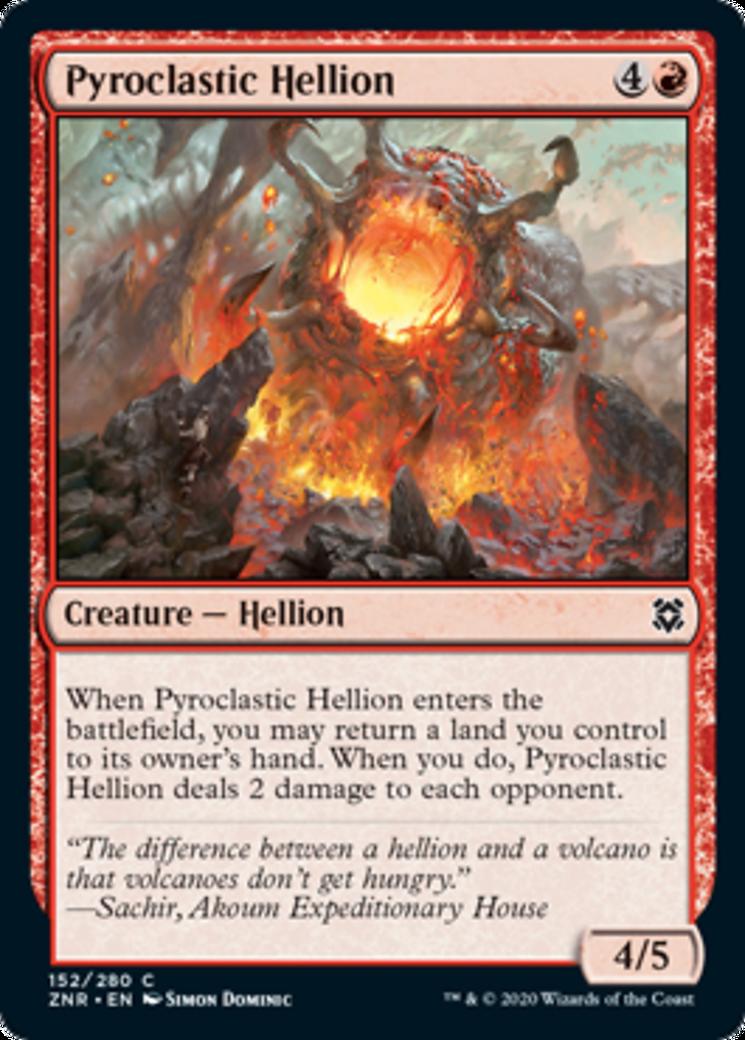 Pyroclastic Hellion Card Image