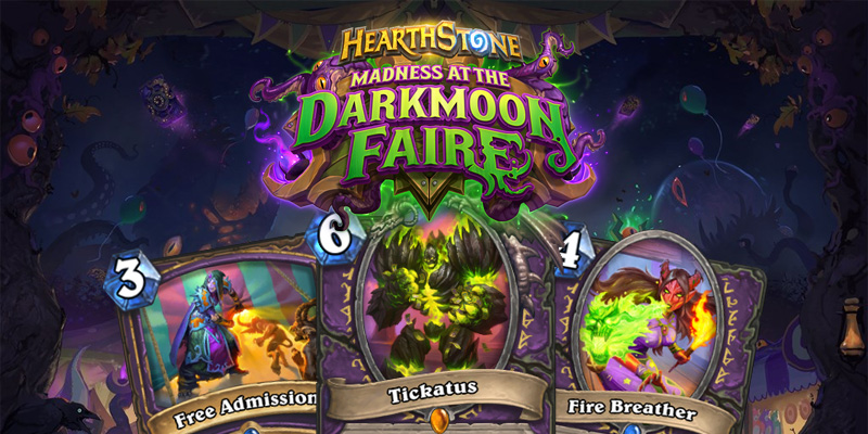 Our Thoughts on Hearthstone's Madness at the Darkmoon Faire Warlock Cards