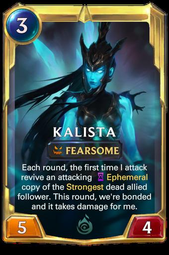 Kalista Card Image