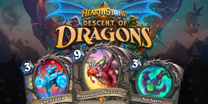 Out of Cards Reviews - Descent of Dragons Reveal Season #4