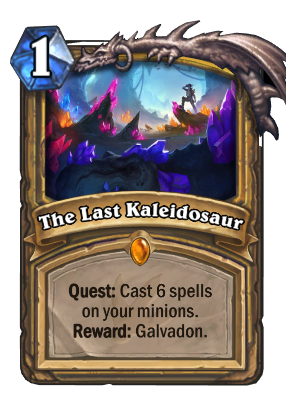 The Last Kaleidosaur Card Image