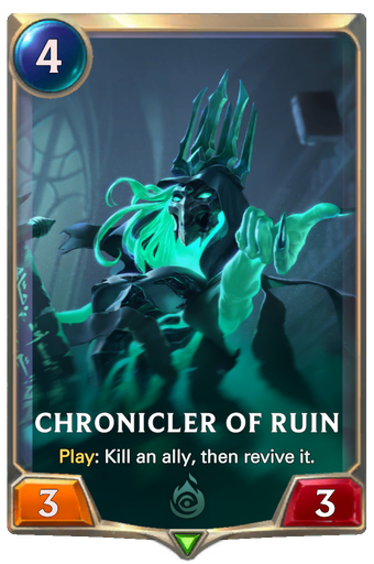 Chronicler of Ruin Card Image