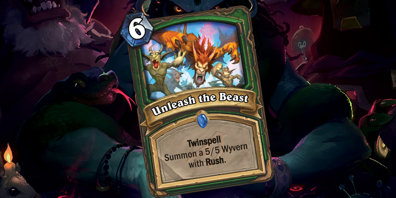 New Hunter Card - Unleash the Beast