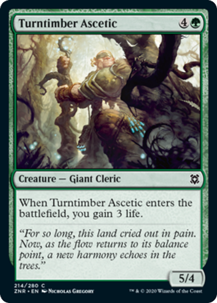 Turntimber Ascetic Card Image