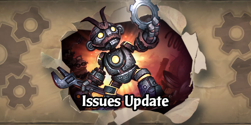 Hearthstone Issues Update - Hotfix Incoming, Data Patch on Monday, Further Issues Resolving on Outland Launch