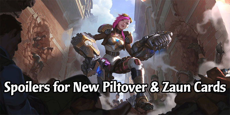 Vi is Legend of Runeterra's Latest Champion - New Piltover & Zaun Cards Revealed