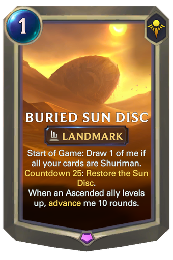 Buried Sun Disc Card Image