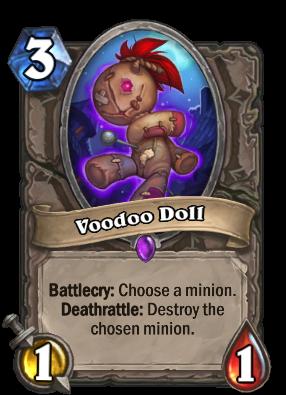 Voodoo Doll Card Image
