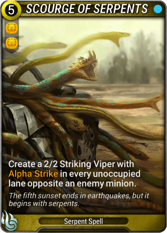 Scourge of Serpents Card Image