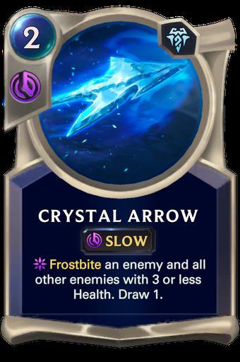 Crystal Arrow Card Image