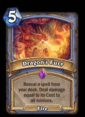 Dragon's Fury Card Image