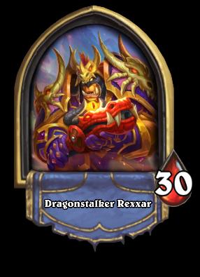Dragonstalker Rexxar Card Image