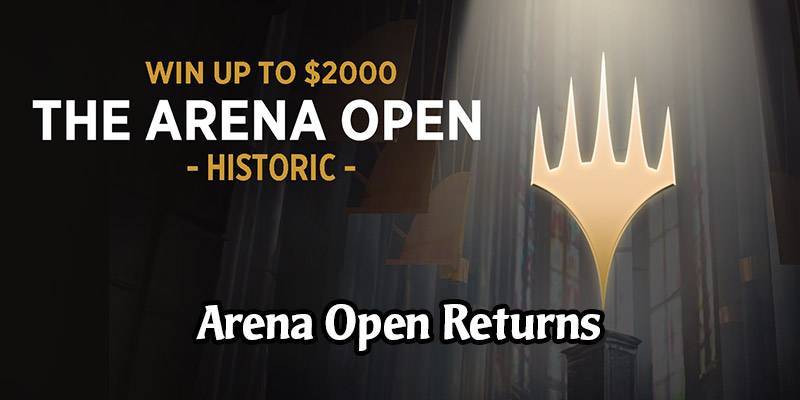 The Arena Open Tournament Returns on August 1 - Win Up to $2000!