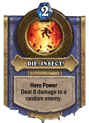 DIE, INSECT! Card Image