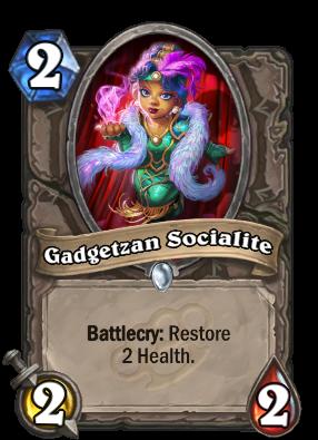 Gadgetzan Socialite Card Image