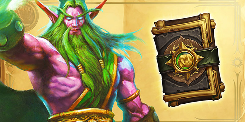 Malfurion Gets the Hearthstone Book of Heroes Treatment on June 22