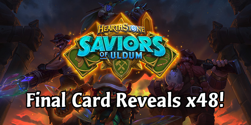 The Final Saviors of Uldum Card Reveal Stream - 48 New Cards! LIVE COVERAGE