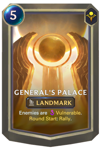 General's Palace Card Image