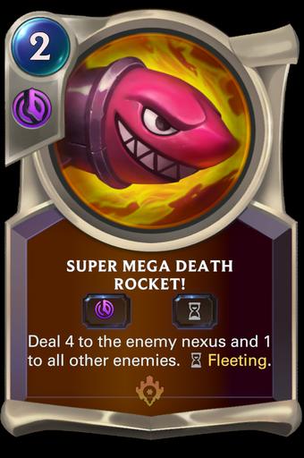Super Mega Death Rocket! Card Image