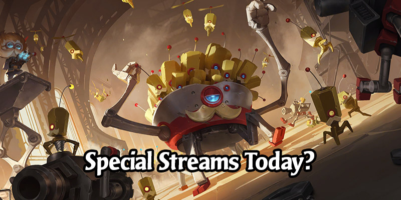 Runeterra Streamers are Doing Special Streams After Today's Card Reveals? What is Going On?