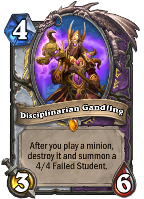 Disciplinarian Gandling Card Image