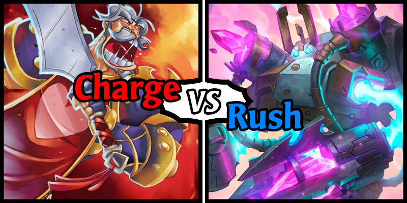 Charge vs Rush - The Battle Between the Haste-y Hearthstone Mechanics