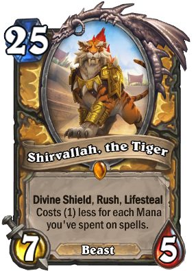 Shirvallah, the Tiger Card Image