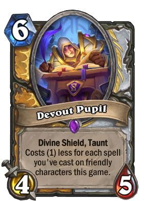 Devout Pupil Card Image