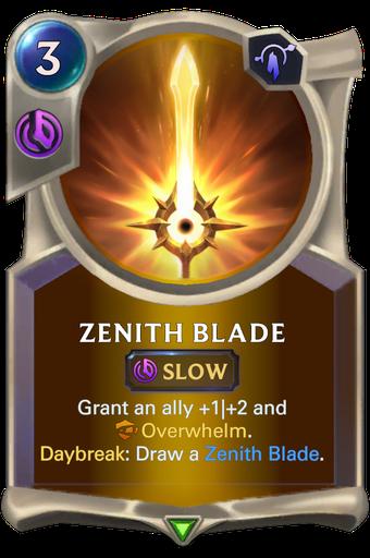 Zenith Blade Card Image