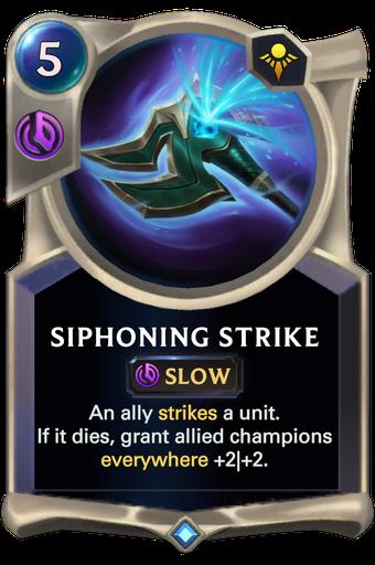 Siphoning Strike Card Image
