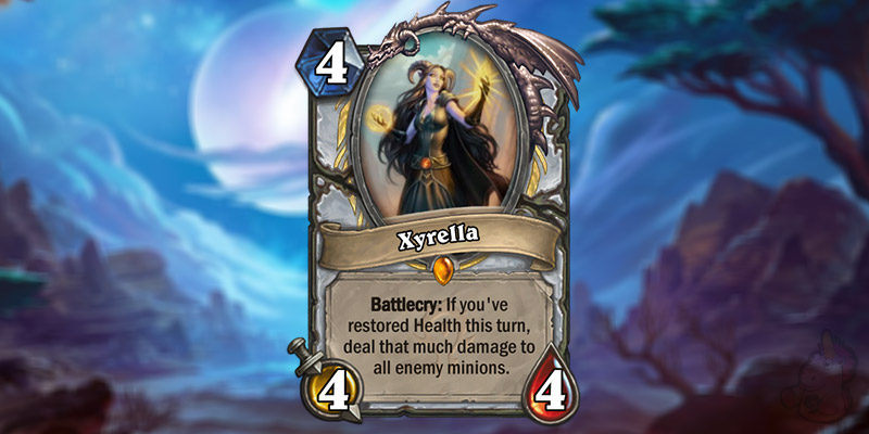 AmazingLP Reveals Three New Forged in the Barrens Card - Xyrella (Priest Legendary) & Two Watch Posts