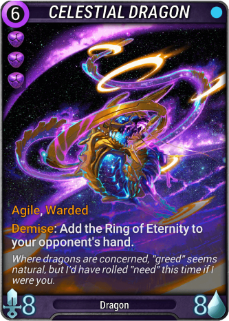 Celestial Dragon Card Image