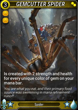 Gemcutter Spider Card Image