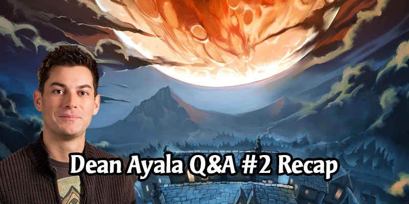 Dean Ayala's Community Q&A #2 - More New Modes Confirmed, Profiles, Mini Sets, Arena, Wild, and More!