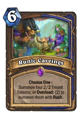 Runic Carvings Card Image
