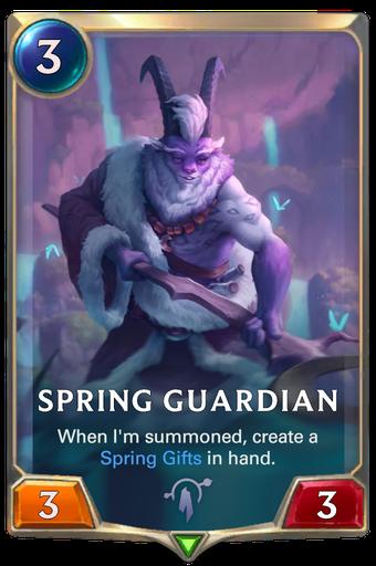 Spring Guardian Card Image