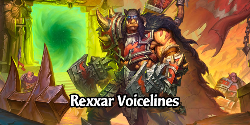 Warsong Rexxar, Upcoming Shop Hero Skin, Has New Voicelines