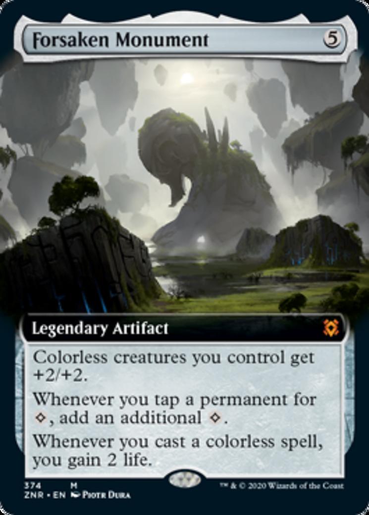 Forsaken Monument Card Image