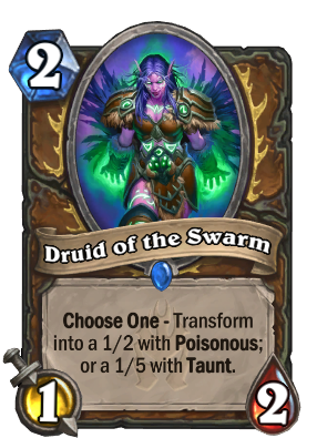 Druid of the Swarm Card Image