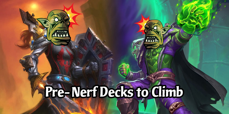 Top Performing Decks to Climb the Ladder Before the Balance Changes Hit