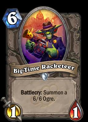 Big-Time Racketeer Card Image