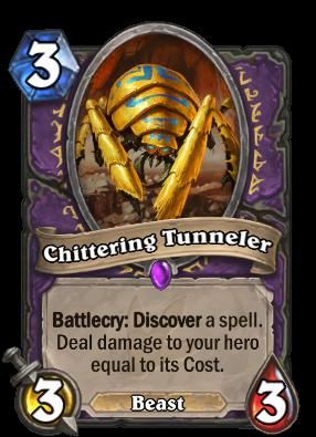 Chittering Tunneler Card Image
