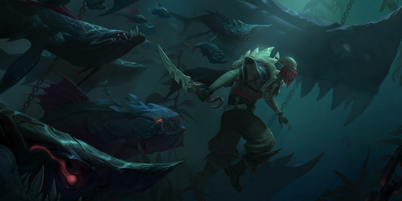 Pyke Champion & 11 New Cards for Runeterra's Rise of the Underworlds Expansion Revealed!