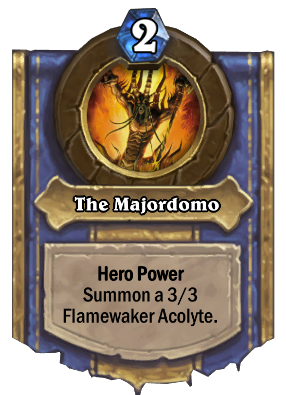 The Majordomo Card Image