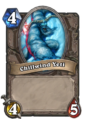 (4) Chillwind Yeti